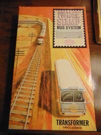 Postage Stamp bus system NIB