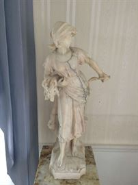 Italian Marble/Alabaster Sculpture