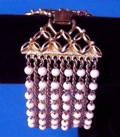 Eleven strand vintage bracelet by Coro.