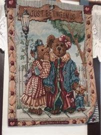 Boyds Bear Tapestry