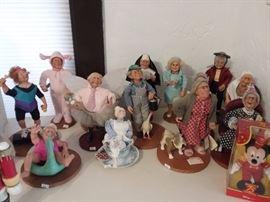 Nana's Family Dolls