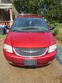 2001 Chrysler Limited Town & Country