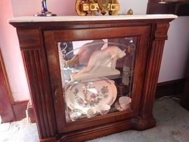 Marble Top Cabinet