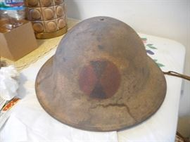 WW1 , Civil Service helmet with liner