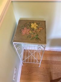 Plant stand w/tile top