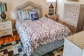 Quality wicker bedroom furnishings