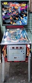 Lot 104 - Vintage 1979 Meteor Pinball Machine by Stern, Coin Op
