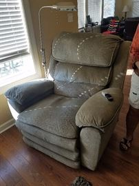 Electric recliner.