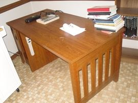This desk is a perfect size and style to fit almost any space and décor!