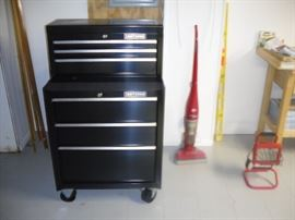Craftmans multi drawer tool cabinets.