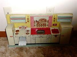 metal child's kitchen