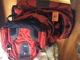 various collection of luggage