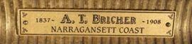 Bricher plaque