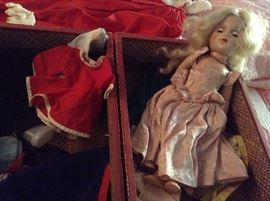 Mary Hoyer Doll with case