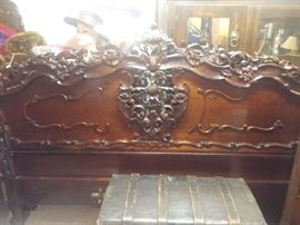 Beautiful ornate King Size Bed