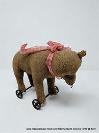 Steiff Rolling Teddy Bear