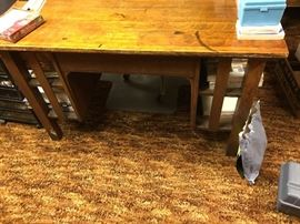 mission style desk