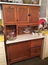 Antique Kitchen Hoosier Cabinet