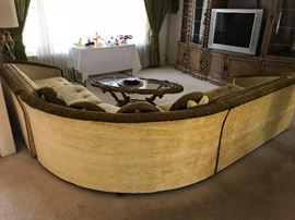 Back view of Sectional Sofa