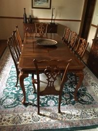 formal dining set seats 8