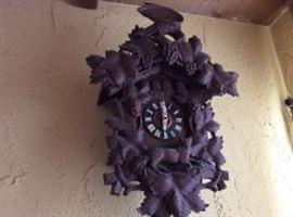 Bavarian Black Forest Cuckoo Clock