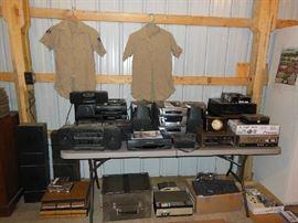 Electronic Equipment - Radio, Turntable, etc