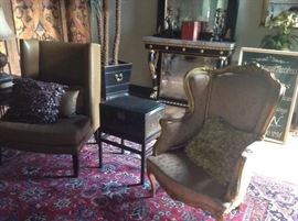 Fine selection of 19th. - 20th c seating