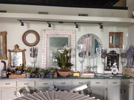 Great selection of mirrors 18th. -20th century