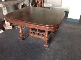 French 19th c. Walnut Table (extends)