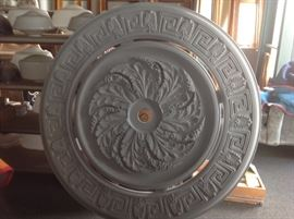 Selection of ceiling medallions  urethane and plaster