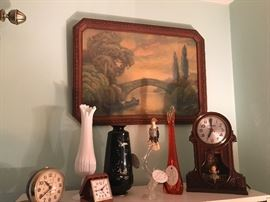 Vintage collectible clocks and more!