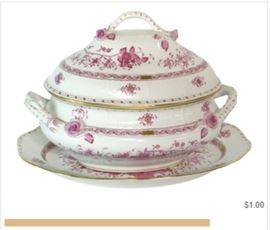Item 154 Herend Tureen in Chinese Bouquet Pattern