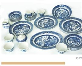 Item 161 Blue Willow China