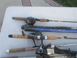 Fishing Poles and Stuff