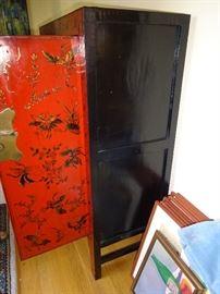 Side View of Tibetan Furniture