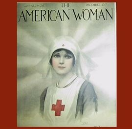 The American Woman Cover 1917, Just a Stunning Image!