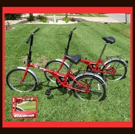 Pair of DAHON Folding Bicycles in Excellent Condition