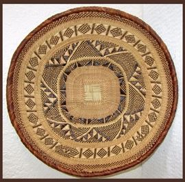 Large Nicely Woven Tray