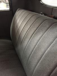 Great tweed interior