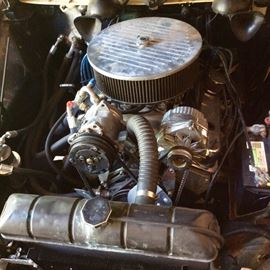 1947 Studebaker with early 90's engine.