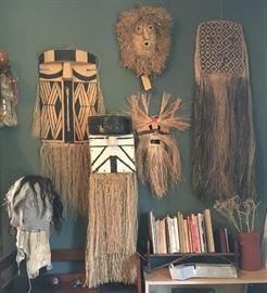 Rare Wood, Pigment & Fiber Masks & Headdresses, Trance Headdress