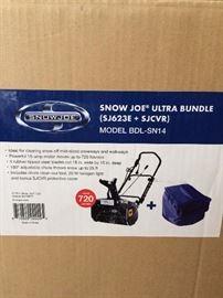 New in box Snow Joe Ultra Bundle