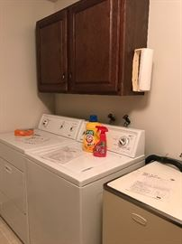 Very nice Kenmore Washer and Dryer!