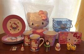 JYR011 Hello Kitty! Plates, Mugs, Bells, Plush