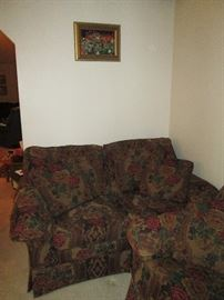 Front Room: Love Seat by Marshall-Fields Dayton's/Hudson's