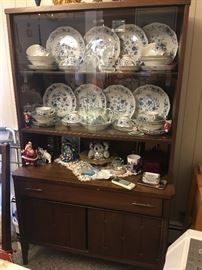 Mid Century China Cupboard