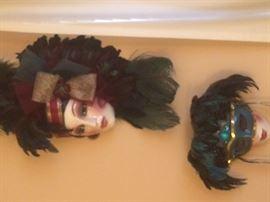 Porcelaine masks