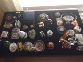 Limoges boxes and collectibles