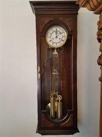 Ethan Allen wall clock
