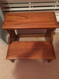 Centennial Oak Bed Step